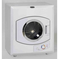 110-Volt Automatic Electric Dryer With Stainless Steel Drum