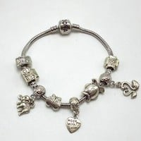 Pandora Women Fashion Plated Bracelet Jewelry