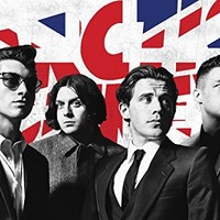 24x36 Poster Print Arctic Monkeys Flag