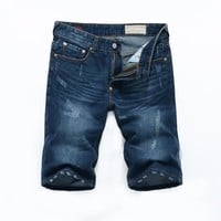 Pants Korean Slim Jeans [6541849987]