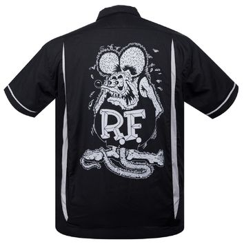 Steady Clothing Rat Fink Kustom Bowler Button Up Ed ''Big Daddy'' Roth Rat Rod