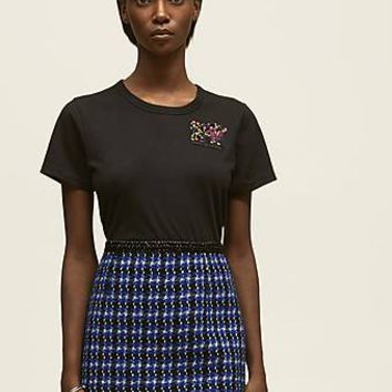 Marc Jacobs x MTV Embroidered Classic Logo T-Shirt
