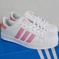 "shosouvenir""Adidas"" Fashion Shell-toe Flats Sneakers Sport Shoes"