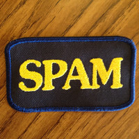 Spam 2x4in. Sew-on patch