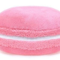 French Macaron Solid Series Pillow, Cushion (Bellamy Rose)