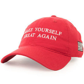 Make yourself great again (red dad hat)