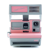 Polaroid Pink & Grey Cool Cam Instant Film Camera Takes Impossible Project Film!