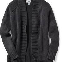 Old Navy Open Front Cocoon Cardigan For Girls
