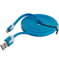 Blue Noodle Lightning Data Sync Cable Charger (10FT) for Apple iPhone 6 Plus / 6S Plus (5.5)