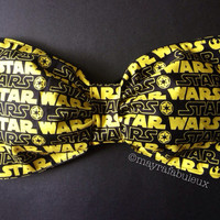 Star Wars Black and Yellow Bow Bandeau