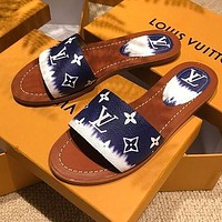 LOUIS VUITTON LV New classic slippers in spring and summer Shoes