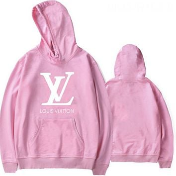 Louis Vuitton LV Women Men Fashion Hooded Top Sweater Pullover Sweatshirt