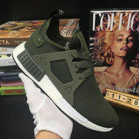 Newest High Quality NMD XR1 Fall Olive Army green Sneakers Women Men Youth Green Stripe Running Shoes Eur 36-47 US 5-10 Free Shipping
