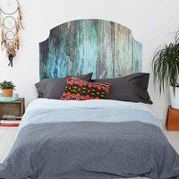 Wooden Headboard Wall Decal- Brown One