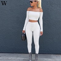 women sets clothes 2 piece Set Casual set tracksuit women crop top and pants womens outfits women sets clothes  9.4