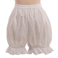 Womens Vintage Lolita Bloomers Cosplay Bottoming Shorts