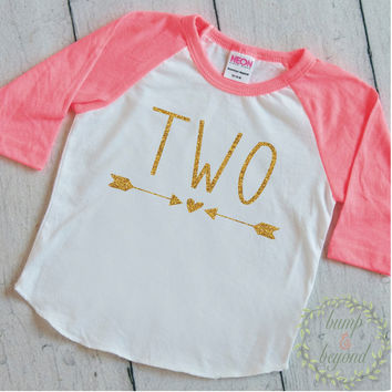 2nd Birthday Shirt Girl Second Birthday Outfit Girl Clothes Second Birthday Girl 133