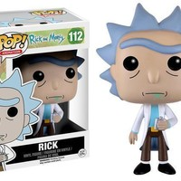Funko Pop Animation Rick & Morty Rick 112 9015