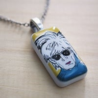 Andy Warhol  //  pendant necklace
