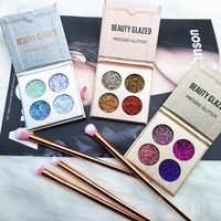 2017 Glitter Eyeshadow Palette Cosmetic Makeup Shimmer Pigment Loose Powder Beauty maquiagem Nude Eye Shadow Pallete