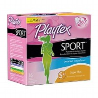 Playtex Sport Tampons, Unscented Super Plus, 36 ea | Walgreens