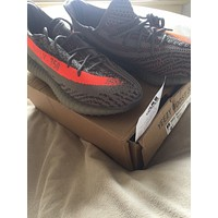 Yeezys Boost 350 V2 SPLY Beluga Solar Red Kanye West BB1826 SIZE 8 US very rare
