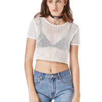Bella Mesh Crop