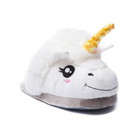Plush Unicorn Slippers for Grown Up Kids