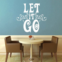 Let it Go - Frozen - Wall Vinyl