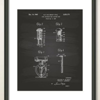 Airplane 1938 Patent Art Illustration - Drawing - Printable INSTANT DOWNLOAD - Get 5 Colors Background
