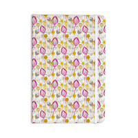 """Julie Hamilton """"Mulberry"""" Pink Yellow Everything Notebook"""