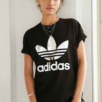 adidas Originals Silver Double Logo Tee