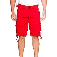 153100 - Red Cargo Shorts