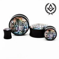 Wasted Youth in Nebula BMA Plugs 00g 9.5mm