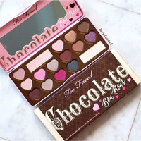 Chocolate Bon Bons 16 colors Eyeshadow Palette  Too faced