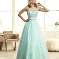 Mac Duggal 48209H Jeweled Ball Gown Prom Dress Evening Gown $399