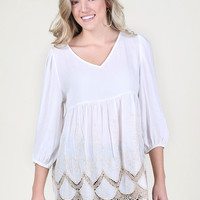 Altar'd State Chilly Nights Top - Tops - Apparel