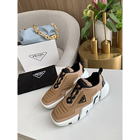 prada men fashion boots fashionable casual leather breathable sneakers running shoes 146