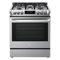 LG Electronics 6.3 cu. ft. Slide-In Gas Range with Probake Convection Oven in Stainless Steel-LSG4511ST - The Home Depot
