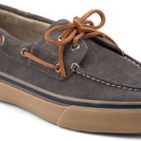 Sperry Top-Sider Bahama Suede 2-Eye Boat Shoe GraySuede, Size 7M  Men's Shoes