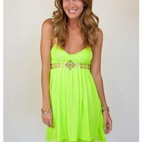 The Bold & Beautiful Neon Dress - Dresses - Apparel   Sugar and Sequins