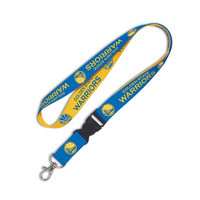 Golden State Warriors Lanyard with Detachable Buckle