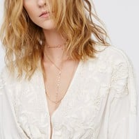 Free People Magic City Layered Necklace