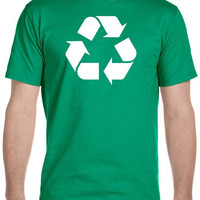 Recycle Symbol Big Bang Theory Leonard T-Shirt