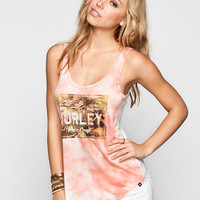 Hurley Coconut Cloud Womens Tank Coral  In Sizes
