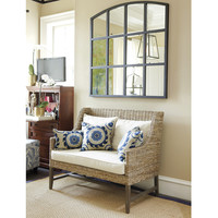Montauk Settee with Cushion  | Ballard Designs