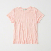 Womens Burnout Boyfriend Tee | Womens New Arrivals | Abercrombie.com
