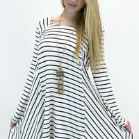 Spunky Sporty Long Sleeve Dress