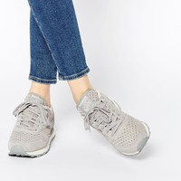 Reebok Classic Leather Star Grey Trainers