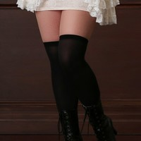 Plus Size Over The Knee Stay-Up Stockings | Hips & Curves
